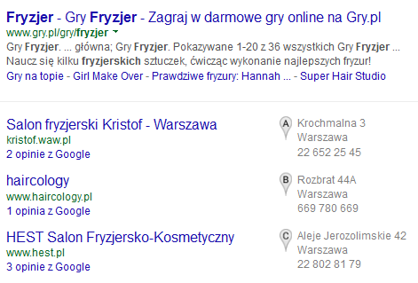 Парикмахерская Варшава