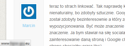 Link-оф-комментарий
