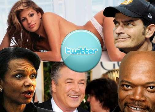 Знаменитости и звезды в twitter